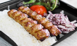 Original Kabob Factory: Wraps and Kabobs or Feed your Entourage Catering Package at Original Kabob Factory
