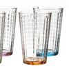 Hoboken Colored Highball Glasses (4-Pack)