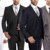 Men's Modern-Fit Suit (3-Piece)