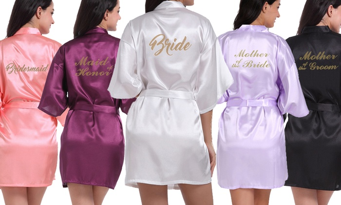 Up To 80% Off Satin Bridal Robes  a96e812a0