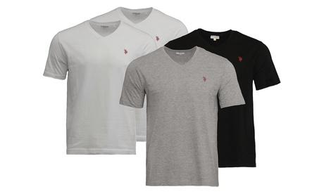 2 T-Shirt da intimo US Polo Assn 100% cotone disponibili in 2 colori e varie taglie