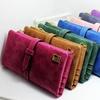 Women's Faux Suede Leather Wallet