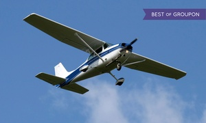 AeroDynamic Aviation - San Jose: One or Three Flight Lessons at AeroDynamic Aviation (Up to 74% Off)