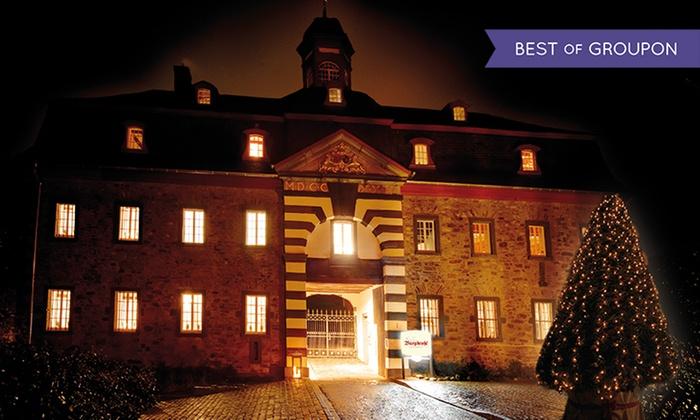 Schloss Burgbrohl - Schloss Burgbrohl: Eifel: 3-4 Tage für Zwei mit Frühstück, 1x Überraschungsmenü, 1 Glas Sekt und 1x Wellnessgutschein im Schloss Burgbrohl