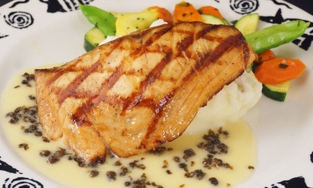 $17 for $30 Worth of Seafood and Eclectic Cuisine at Coho Cafe