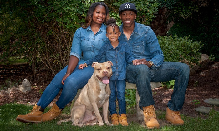 "Caston Studio - Caston Studio: $42 for a 60-Minute Family-Portrait Shoot with 11""x14"" Print at Caston Studio ($325 Value)"