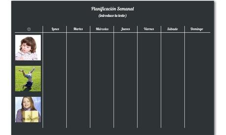 Pizarra personalizada planificadora magnética, rígida o adhesiva en blanco o negro desde 13,90 € enPersonaliza.com