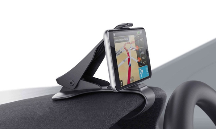 One, Two or Four Universal Clip-On Smartphone Holders from £4.19