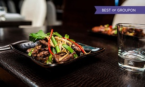 The Crazy Bear: Thai Chef's Recommendations - 2 or 3 Courses, Champagne and Wine at The Crazy Bear from £24.95 (Up to 61% Off)