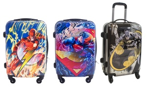 "DC Comics 21"" Hard-Sided Spinner Carry-On Luggage"