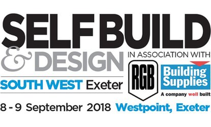 The SelfBuild and Design Show, 8 - 9 September, Westpoint Exhibition Centre, Exeter (Up to 50% Off)