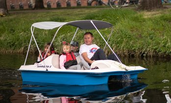 60-Minute Pedal Boat Hire
