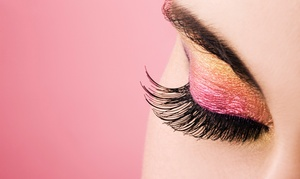 Jennifer at Bellezza Salon: Half or Full Eyelash Set and Application from Jennifer at Bellezza Salon  (Up to 56% Off)