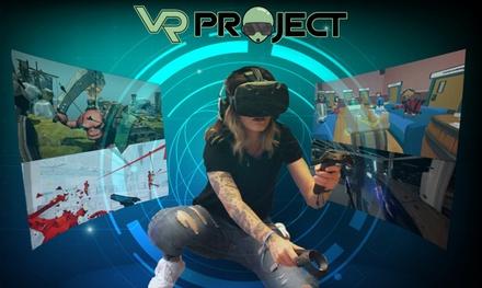 Sesión de realidad virtual para 1, 2 o 4 personas desde 5,95 € en VR Project