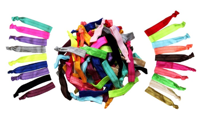 Up To 64% Off on Ribbon Hair Ties (60-Count)  5eac5b1da39