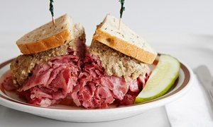 Hygrade Deli: Deli Food at Hygrade Deli (45% Off). Two Options Available.