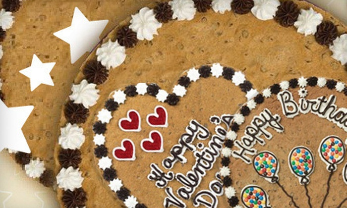 Great American Cookies - San Antonio: $13 for a 16-Inch Round Cookie Cake from Great American Cookies ($26 Value)