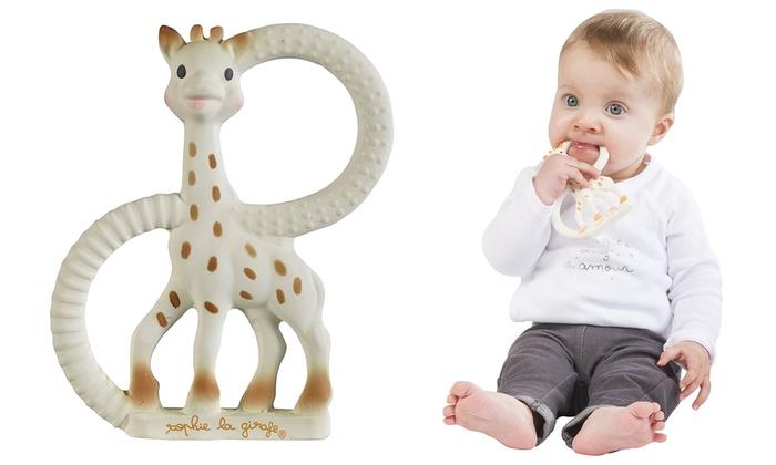 One or Two Sophie la Girafe Soft Teething Rings