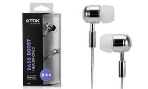 Écouteurs chromés TDK