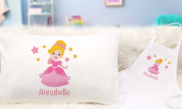 c9b345c0c46c Up to 79% Off Personalized Kid's Pillowcases and Aprons