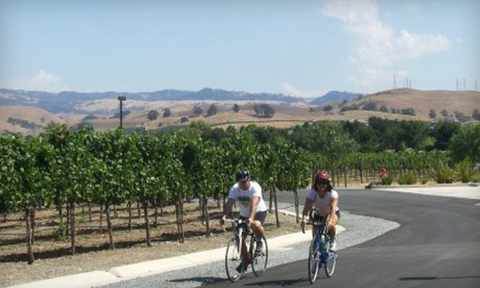 Livermore Valley Wine & Cycle Tours - Livermore-Pleasanton: Premium Winery Bike Tour for One or Two with Lunch and Tasting from Livermore Valley Wine & Cycle Tours (54% Off)