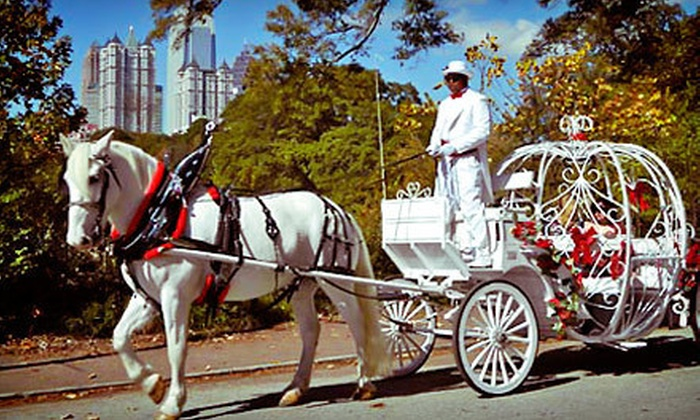 Piedmont Park - Northeast Atlanta: Carriage Ride with Ice Skating or Romantic Carriage Ride at Piedmont Park (Up to 63% Off)