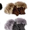 Vincenza Women's Finger-Less Faux-Fur Gloves