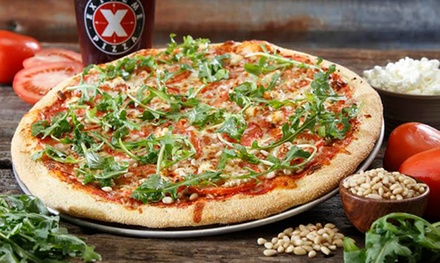Two Large Three-Topping Pizzas at Extreme Pizza (Up to 38% Off)