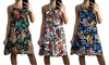Strappy Floral Summer Dress