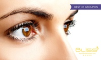 LVL Lashes with Eyebrow Definition Treatment at Bliss Beauty Spa (60% Off)