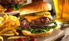 Burger inkl. Beilage und Getränk