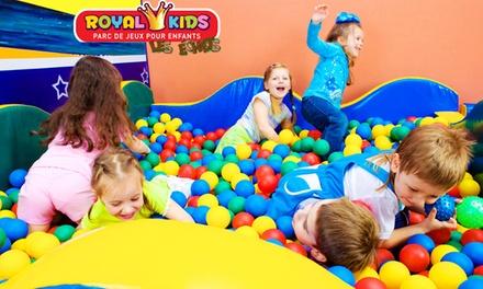 1 entrée pour 1, 2 ou 3 enfants, dès 5,90 € au parc Royal Kids Les Echets