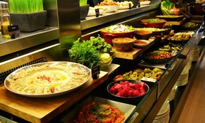 Ginger - Park Rotana: Lunch or Dinner Buffet with Drinks for Two, Four or Six at Ginger at Park Rotana (Up to 53% Off)