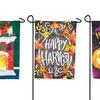 Seasonal Solar LED Applique Garden Flags