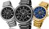 August Steiner Men's Swiss Chronograph Bracelet Watch