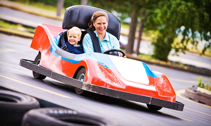 Sport-N-Fun - Farmington Hills: $15 for Go-Karts, Batting Cages, and Other Activities Plus Unlimited Pizza for One at Sport-N-Fun (Up to $32.47 Value)