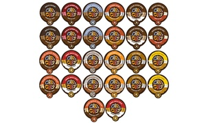 Crazy Cups Chocolate and Flavor Lovers Coffee Sampler (48ct.)