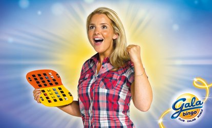 image for Bingo Session with Chips for Two, Four or Eight at Gala Bingo, Multiple Locations (Up to 80% Off)