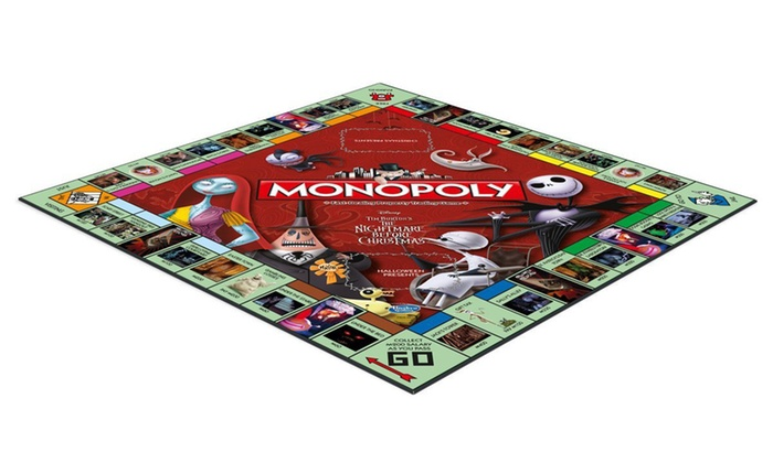 monopoly nightmare before christmas edition