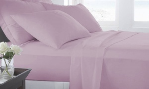 Microfiber Luxury Home Ultra Soft Sheet Set (6-Piece) at Microfiber Luxury Home Ultra Soft Sheet Set (6-Piece), plus 9.0% Cash Back from Ebates.