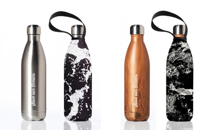 BBBYO 750ml Insulated Stainless Steel Bottle with Cover: One ($29) or Two ($49) (Don't Pay up to $128)