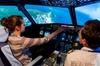 Simulateur d'avion de ligne
