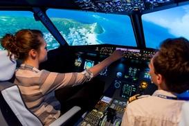Simulateur d'avion de ligne  Aix-en-Provence