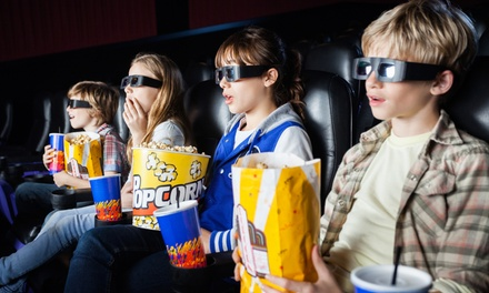 6D Cinema Experience or 30  or 60 Minute Laser Tag Game for Up to Four at Thrill Zone, Two Locations (Up to 58% Off)
