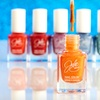 $12.99 for Six Full-Size JulieG Textured Nail Polishes