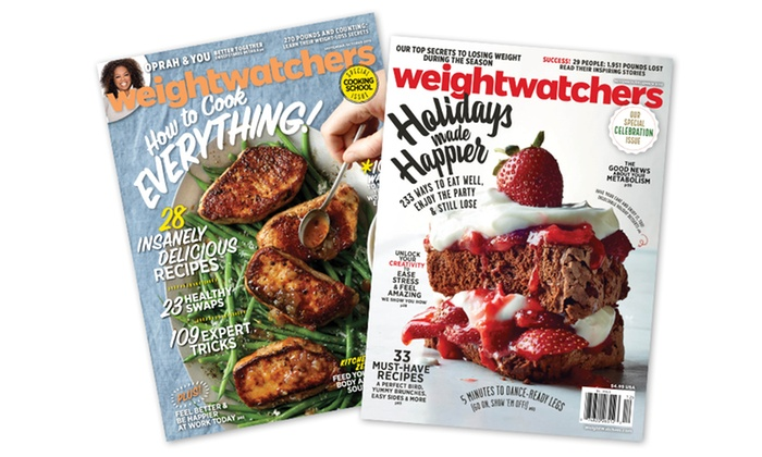 Weight Watchers Magazine Procirc Promotions Groupon