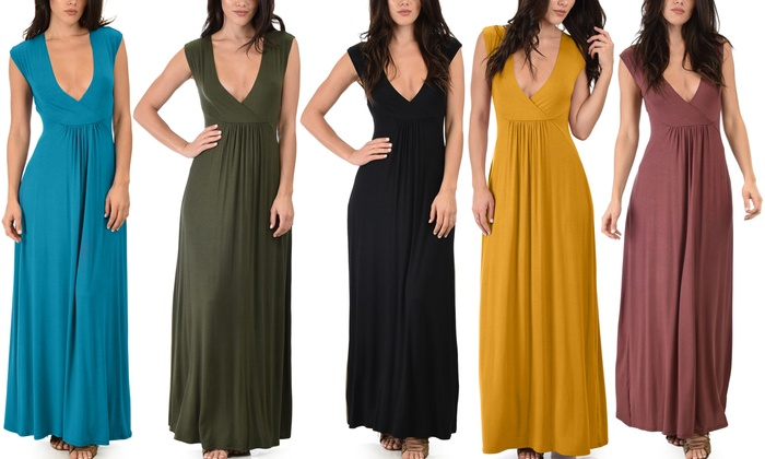 5b35246525a Women s Lyss Loo Sweetest Kiss Sleeveless Maxi Dress w  Plus Size