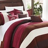 Mandela Microsuede Color-Block Comforter Set (7-Piece)