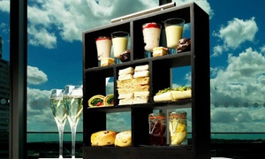 Sky Lounge at DoubleTree Hilton Leeds: Afternoon Tea with Glass of Prosecco for Two or Four at Sky Lounge at DoubleTree Hilton Leeds (Up to 42% Off)