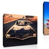 "20""x20"" Vintage Car Print on Gallery-Wrapped Canvas"